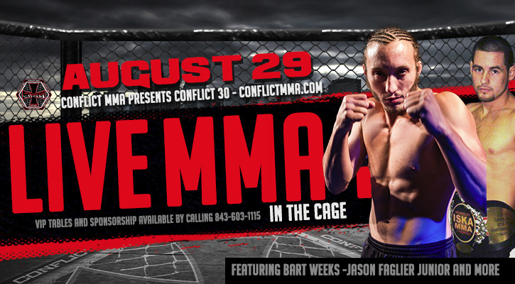 Conflict MMA presents Conflict 30