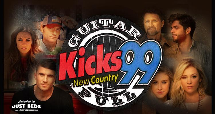 17th Annual KICKS 99 Guitar Pull