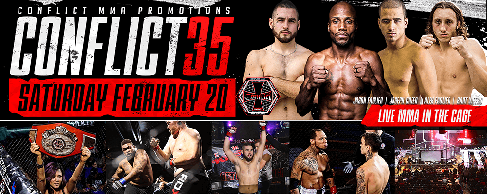 MMA: CONFLICT 35 Coming To The Bell Auditorium!