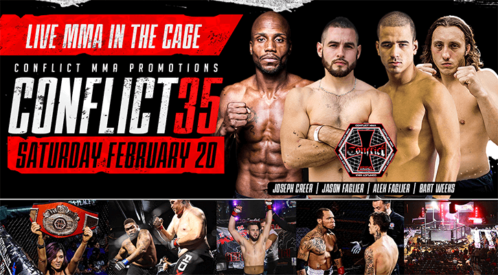 Conflict MMA Promotions: Conflict 35