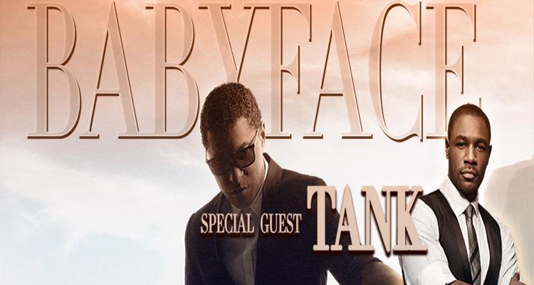 "Kenny ""Babyface"" Edmonds with Tank"