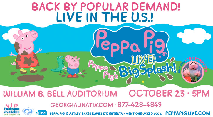 Peppa Pig Live! – Peppa Pig's Big Splash