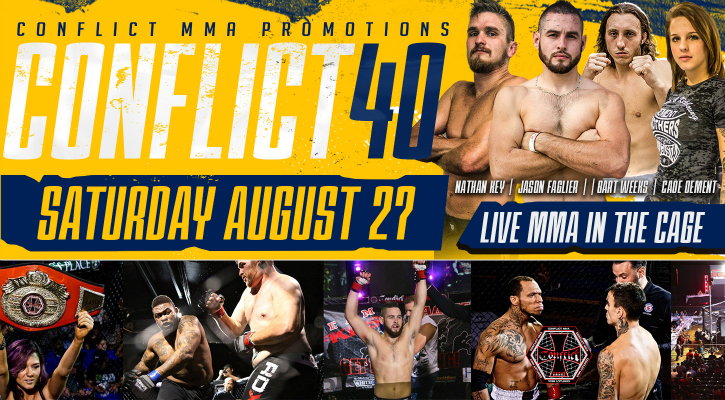 Conflict MMA: Conflict 40