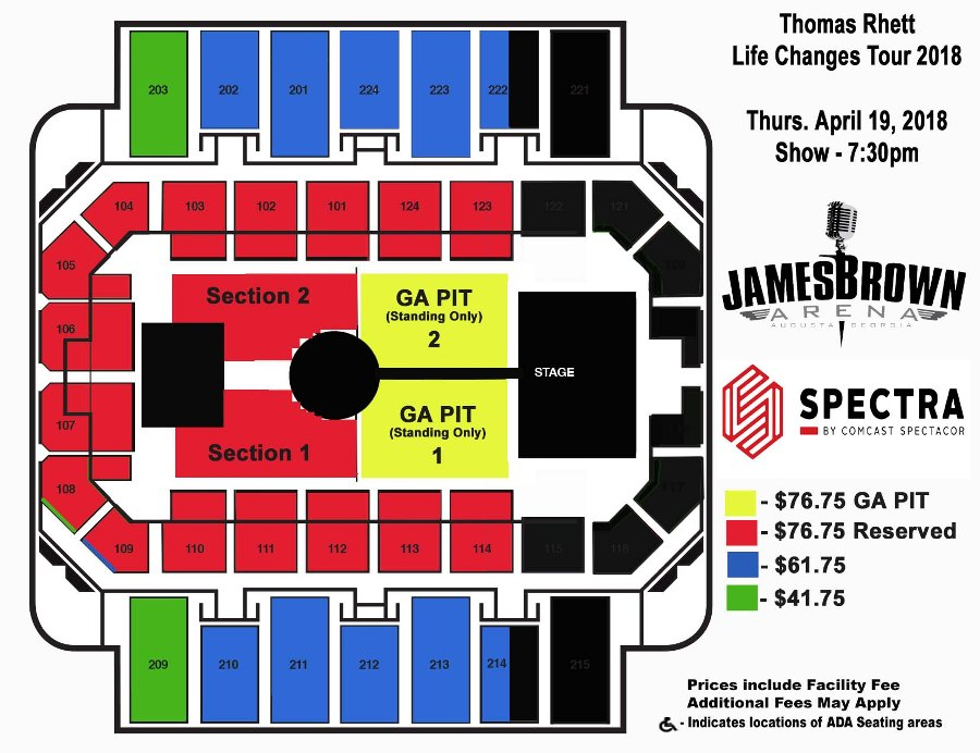 James brown arena ticketmaster find tickets for james brown arena at