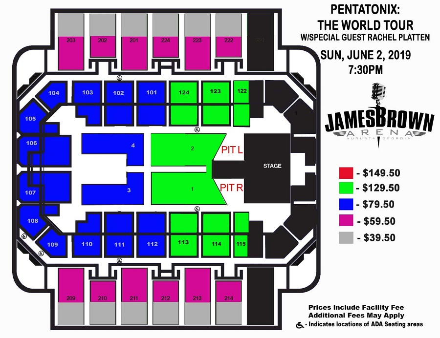 Tickets Seating Chart