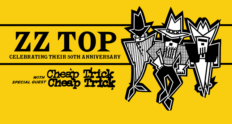 ZZ Top – 50th Anniversary Tour